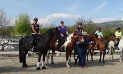 Working Equitation - Kursteilnehmer April 2014